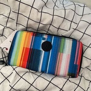 Rainbow Kipling Long Wallet
